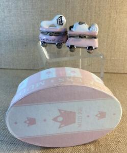 Mud Pie Princess Tooth / Curl Treasure Boxes in Box