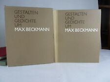 Lilli von Braunbehrens,  Gestalten und Gedichte um Max Beckmann. 1969