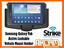 STRIKE ALPHA SAMSUNG GALAXY TAB ACTIVE LOCKABLE VEHICLE MOUNT HOLDER - CHARGES