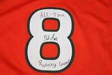 Duke Johnson Signed Miami Hurricanes Jersey COA Autograph Browns