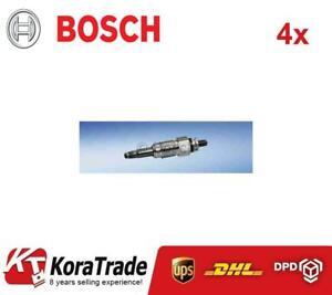 4x BOSCH 0250201032 DIESEL HEATER GLOW PLUG
