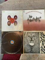 1960's & 70's JAZZ ROCK 4 vinyl OG LP lot- Brian Auger - BST - Chicago - Santana