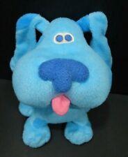 "Blues Clues Vintage Blue Plush Dog 6"" 1998 Viacom"