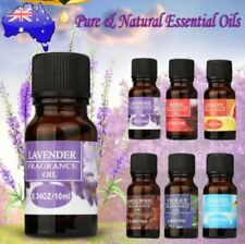 100% Pure Natural 10ml Essential Oil Carrier Oil Aromatherapy Grade Healthy Aim#