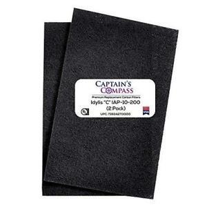 CAPTAIN'S COMPASS Aftermarket 2 Pack Idylis C Carbon Filter, Fits Idylis Air