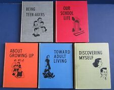 NATIONAL FORUM GUIDANCE SERIES HC Lot Discovering Myself Etc., 1946-1955!