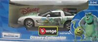 BURAGO 2222-DISNEY COLLECTION - MONSTER CHEVROLET CORVETTE - ITALY-sc 1:24