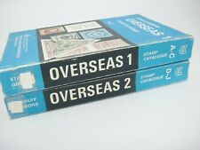 Stanley Gibbons Stamp Catalogues Overseas 1 A-C and 2 D-J 1973 Set of 2