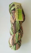 Cascade Yarn Casablanca Self Stripe Wool Silk Mohair 20 Forest single skein