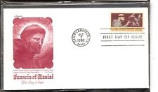 US SC # 2023 St. Francis Of Assisi FDC. Artmaster Cachet.