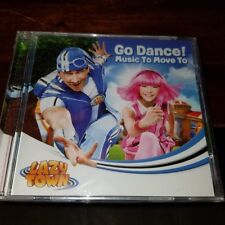 Go Dance CD Lazy Town Music to move to kids cartoon network