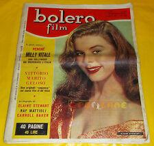 BOLERO FILM 1957 n. 542 Elaine Stewart, Raf Mattioli, Vittorio De Sica,  Sinatra