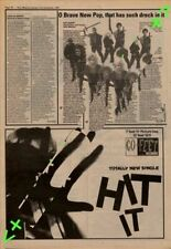 Beat The Hit It Advert NME Cutting 1981