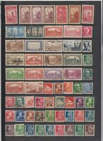 FRANCE ALGERIA 2 PREMIUM STOCK PAGES COLLECTION LOT #3 VF VARIETY @@@ $$$$$$$