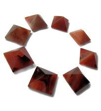 1 x la corniola reiki energia addebitate PIRAMIDE Crystal Healing Orgone 20mm