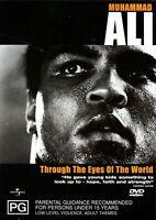 Muhammad Ali - Through The Eyes Of The World (DVD, 2002, R4) NEW, SEALED, RARE