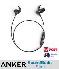 ANKER SoundBuds Slim+ PLUS Bluetooth Headphones AptX IPX5 water resistant