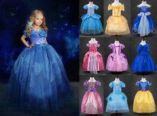 Kids Girls Dress Cinderella Princess Cosplay Party Costume Kids Fancy Dresses