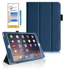 Carcasas, cubiertas y fundas azul piel sintética para tablets e eBooks Apple