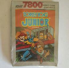 NEW W/CRUSHED BOX DONKEY KONG JR JUNIOR GAME FOR ATARI 7800 PAL VER NOT USA