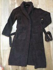Barefoot Dreams Cozychic #509 Women's Brown Robe Size 2