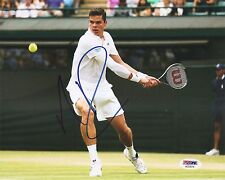 Milos Raonic Canada Tennis Signed Auto 8x10 PHOTO PSA/DNA COA