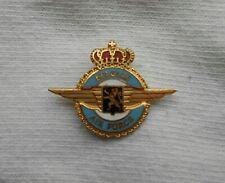 Pins Belgian Air Force