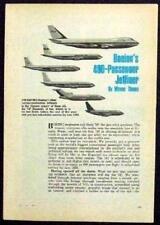 Boeing 747 1968 Pre-Flight Pan-Am vintage original article