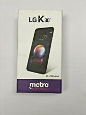 LG K30 32GB Black Metro by T-Mobile 4G LTE BRAND NEW Locked Phone