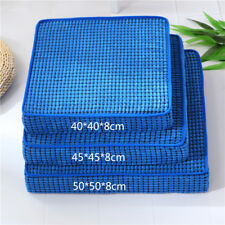 Chair Pad Thicken Non-slip Square Corduroy Seat Cushion Dining Study Room Office