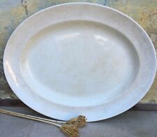 More details for w.war 2 vintage grv1 myotts military aged white ironstone platter dated 1943