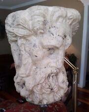 """Greek Mythology ZEUS Sculpture Statue 31"""" Tall - UNIQUE"""