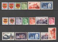 FRANCE REUNION 283-296 OG H-LH M/M-L/M VF $120 SCV SOUND SET BEAUTIFUL GUM