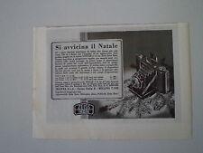 advertising Pubblicità 1938 ZEISS IKON NETTAR 6X6