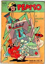 ~+~ PEPITO MAGAZINE n°10 ~+~ 09/1962 SAGE