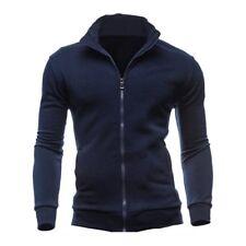 Sweat-shirts Survetement de sport pour les hommes - marine XL A4Z1