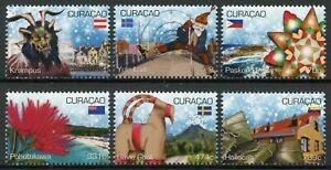 Curacao Christmas Stamps 2020 MNH December Cultures Traditions Flowers 6v Set