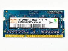 2X 1GB 1066Mhz DDR3 RAM Memory PC3-8500S for Apple MacBook Pro A1278 2009 2010