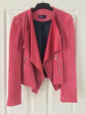 Pink Leather Jacket Size 12 - Twiggy from M&S