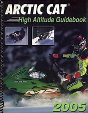 2005 ARCTIC CAT SNOWMOBILE  HIGH ALTITUDE P/N 2257-158  MANUAL (768)