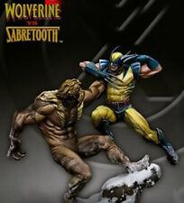 Duel Wolverine vs Sabretooth  Metal Model Kit  Miniatures 70mm  KM-031