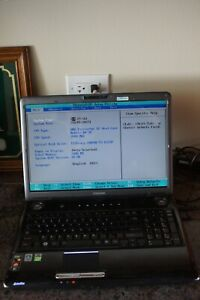 Toshiba Satellite P305D-S8834.Powers Up,No HDD.Please Read.AS IS
