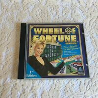 Wheel of Fortune CD-ROM Jewel Case  PC  1999 Windows 95/98 Hasbro