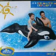 Inflatable Whale Ride-on by Intex #58561NP