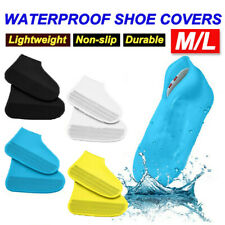 SHOE COVER WATERPROOF Silicone Non Slip Rain Water RUBBER Foot Boot Overshoe AU
