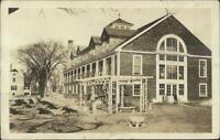 Marblehead MA Cancel Camp Bldg Where Girls Sleep Real Photo Postcard c1910