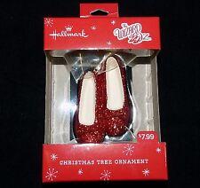 HALLMARK The Wizard Of Oz Dorothys Ruby Slippers Christmas Tree Ornament - NIP