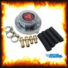 1 - 5 psi Adjustable Fuel Pressure Regulator Carburetor Carb Kit 8mm 10mm Hose