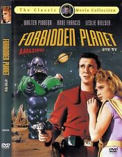 Forbidden Planet (1956)	Walter Pidgeon / Anne Francis DVD NEW *FAST SHIPPING*