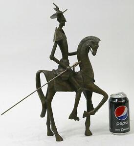 Don Quixote /& Sancho Panza Wall Sculpture 12 x 10 Men of La Mancha Wall Sculpture
